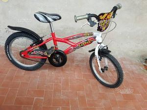 """Bicicletta MTB 16"""" per bambini dai 4 ai 5 anni"""