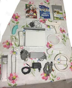 Nintendo Wii con accessori e 3 giochi