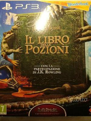 PS3 Cofanetto WONDERBOOK il libro delle pozioni