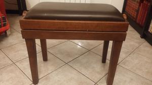 Sgabello panca per pianoforte organo acciaio posot class
