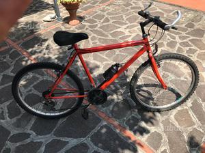 Bicicletta mountain bike di 26 bella e funzionante
