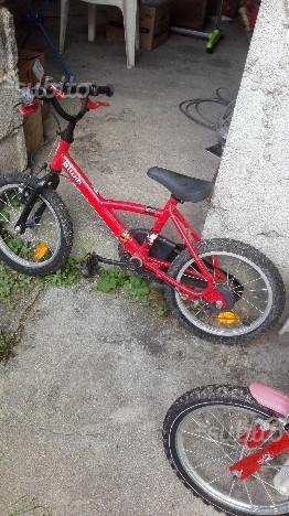 Bicicletta rossa bimbo 4/6 anni