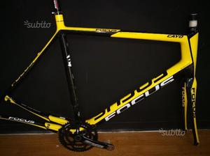 Kit telaio carbonio bici da corsa Focus Cayo