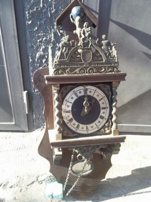 Orologio a pendolo da parete olandese zaanse fries