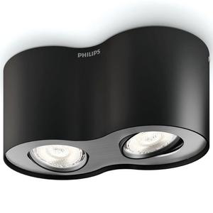 Philips Faretto LED myLiving Phase 2x4,5 W Nero