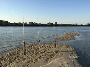 Attrezzatura completa pesca siluro