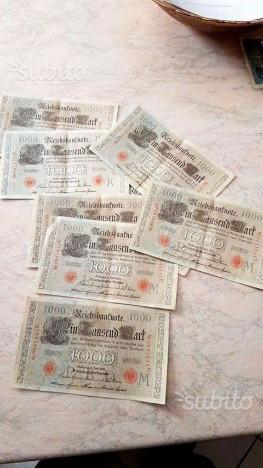 Banconote fds eserie consecutive del