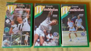 Il Grande Wimbledon - 3 VHS del  Nuovissimi BBC Video