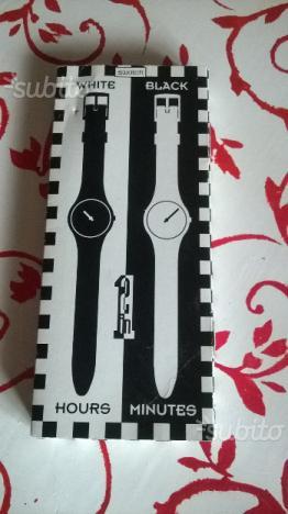 Orologi Swatch Black & White