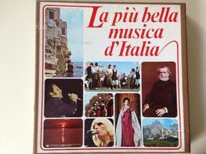 Raccolta di 9 dischi vinile LP musica varia