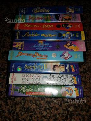 Video cassette W. Disney più 007 tutti