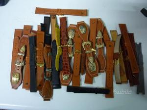 Lotto cinturini per orologi in pelle