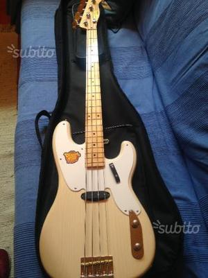 Basso squier by fender classic vibe precision 50s