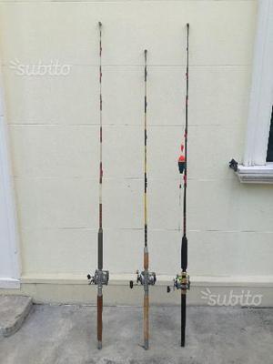 Canne da pesca complete drifting e traino