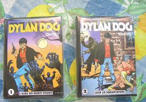 Dylan Dog MINI DIARIO  e 2 PERFETTO NUOVO EDICOLA