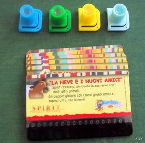 MULINO BIANCO BARILLA MINICINEMA 7 CARD SPIRIT.