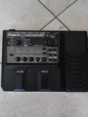 Roland GR-20 guitar synth + pick up esafonico