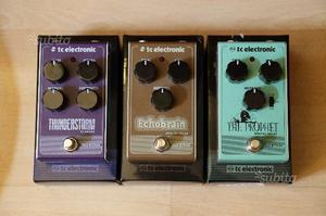 TC Electronic - 3 pedali per chitarra