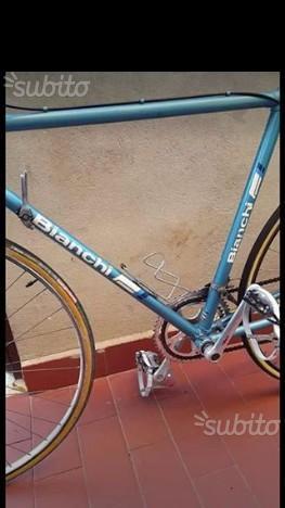 2 bici vintage bianchi sprint e olmo gran prix
