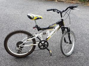 Bicicletta Mountain Bike Bambino misura 20