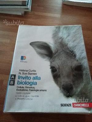 """Libro """"Invito alla biologia"""" di Curtis e Barnes"""