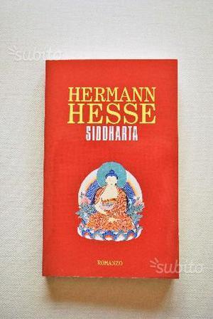 """Libro """"SIDDHARTA"""" di HERMAN HESSE"""