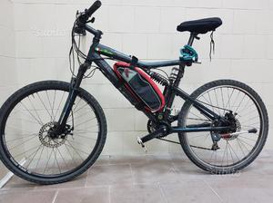 MTB trasformata in e bike