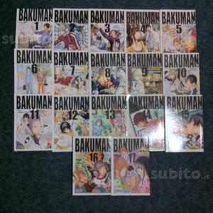 Manga Bakuman dal volume 1 al 9 e 12