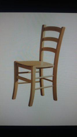 sedia in faggio sedile paglia per pizzeria