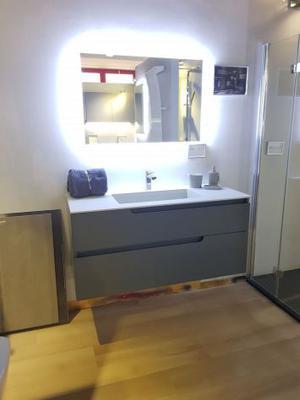 Mobile bagno sospeso L120 Design - Ryo - Negozio
