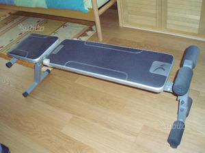 Panca e relativi pesi