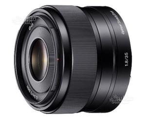 Sony 35mm f/1.8 OSS come nuovo