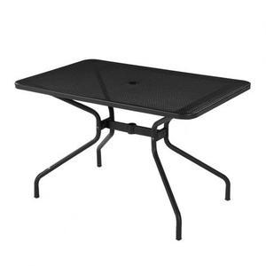 Tavolo rettangolare Emu in ferro battuto 80x120