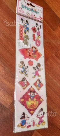 Adesivi a tema Topolino e Minnie in Cina