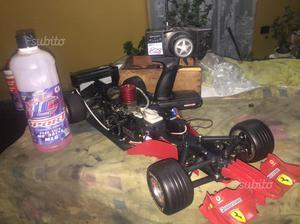 Ferrari F1 con motore a scoppio