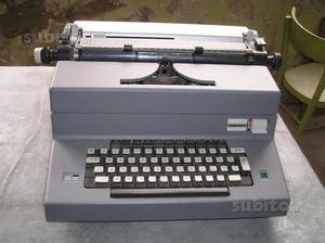 Macchina da scrivere elettrica olivetti editor 4