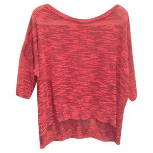maglia rosa melange