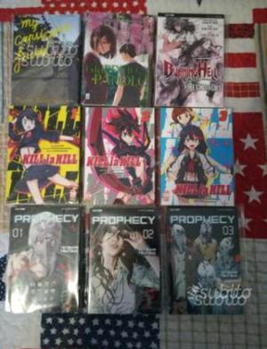 Manga serie brevi e volumi unici