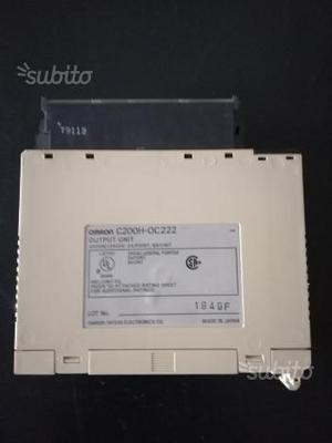 Modulo Uscite per PLC Omron C200H-OC222
