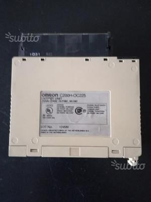 Modulo Uscite per PLC Omron C200H-OC225