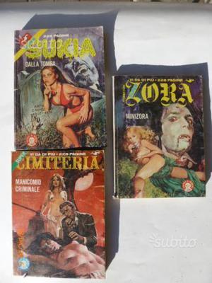 ZORA, SUKIA e CIMITERIA anni 80
