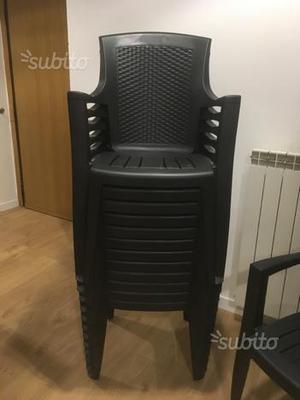 Stock Sedie In Plastica.Stock 100 Sedie Impilabili Usate Da Ristorazione Posot Class