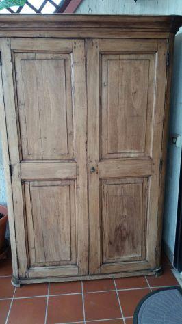 Vendo armadio in legno arte povera fine '800