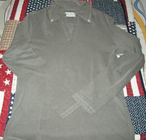 maison martin margiela 10 t shirt uomo grigio