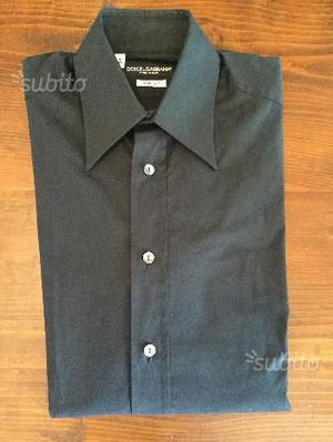 Camicia Dolce e Gabbana Nera Originale e Nuova