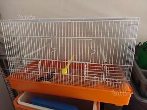 Gabbia da cova per canarini o piccoli pappagalli