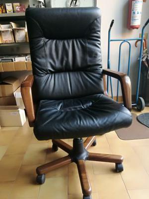 Sedie Da Scrivania In Legno.Sedia Da Studio Con Schienale E Rotelle Posot Class