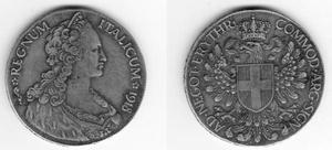 Tallero italicum colonia Eritrea V. E. III