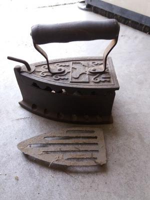 Ferro da stiro a carbone macchina da cucire