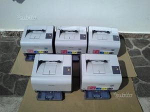 5 Samsung CLP-300 in blocco a 30 euro